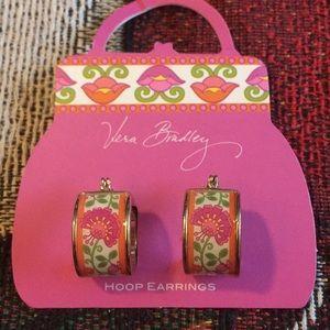 Vera Bradley hoop earrings